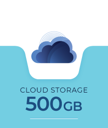 Cloud Backup 500 GB - Dewaweb