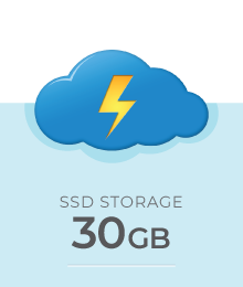 Cloud SSD VPS Windows Murah 30 GB - Dewaweb
