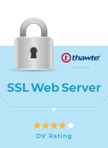 Thawte SSL Web Server OV - SSL Murah Dewaweb