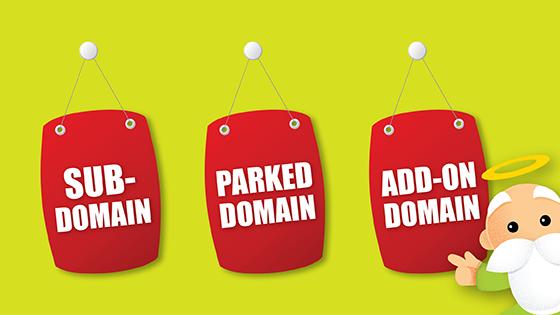 Perbedaan Antara Sub Domain, Parked Domain, dan Add-on Domain