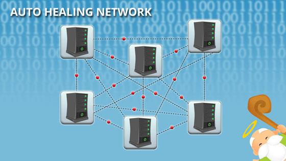 Auto Healing Network Dewaweb