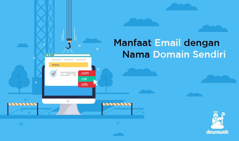 manfaat email dengan nama domain sendiri