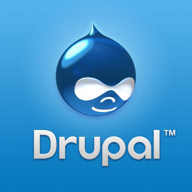 Logo Drupal - Dewaweb - VPS Murah - Cloud Hosting Indonesia