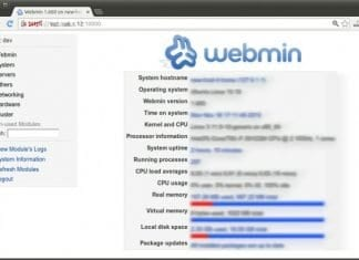 Webmin - Cloud Server - Dewaweb - VPS Murah