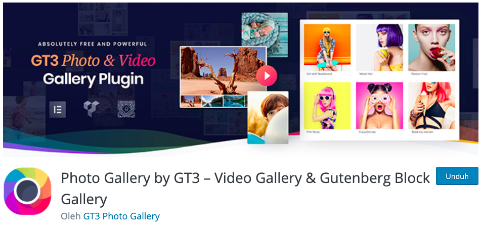 photo gallery by gt3 for wordpress