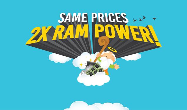 2x RAM - Dewaweb