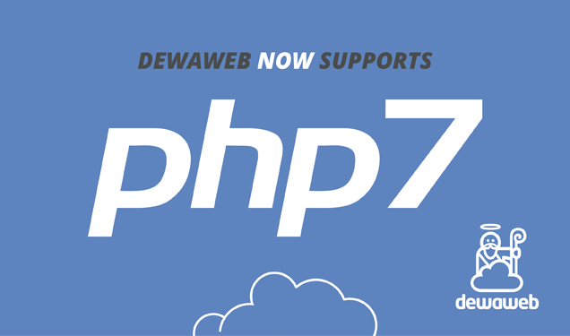 Dewaweb Supports PHP7