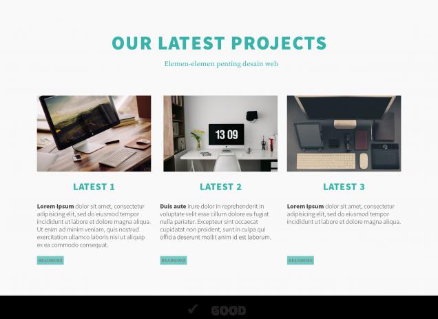elemen penting design website