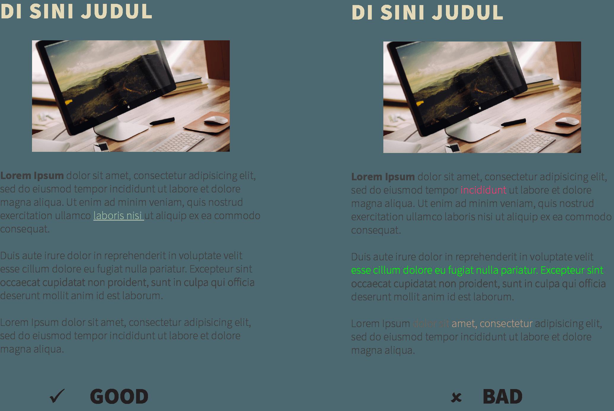 FONT color untuk design web