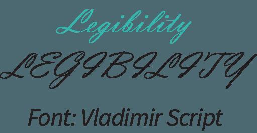 LEGIBILITY design web