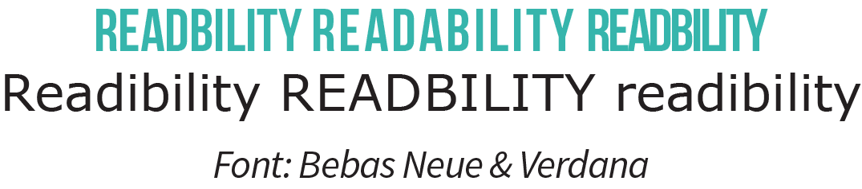 READIBILITY untuk design web