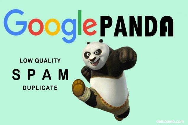 Google Panda dan Cara Menghindari Penalty