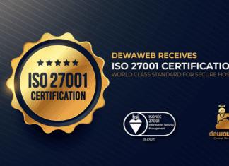 Cloud Hosting ISO 27001 Certification - Security Management Dewaweb
