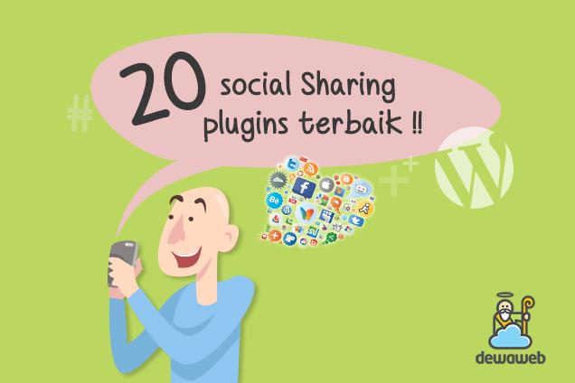 20 Plugin Social Media untuk Wordpress terbaik - Blog Dewaweb
