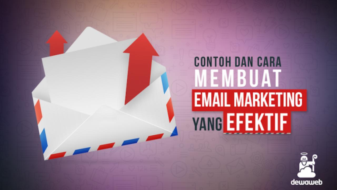 contoh dan cara membuat email marketing