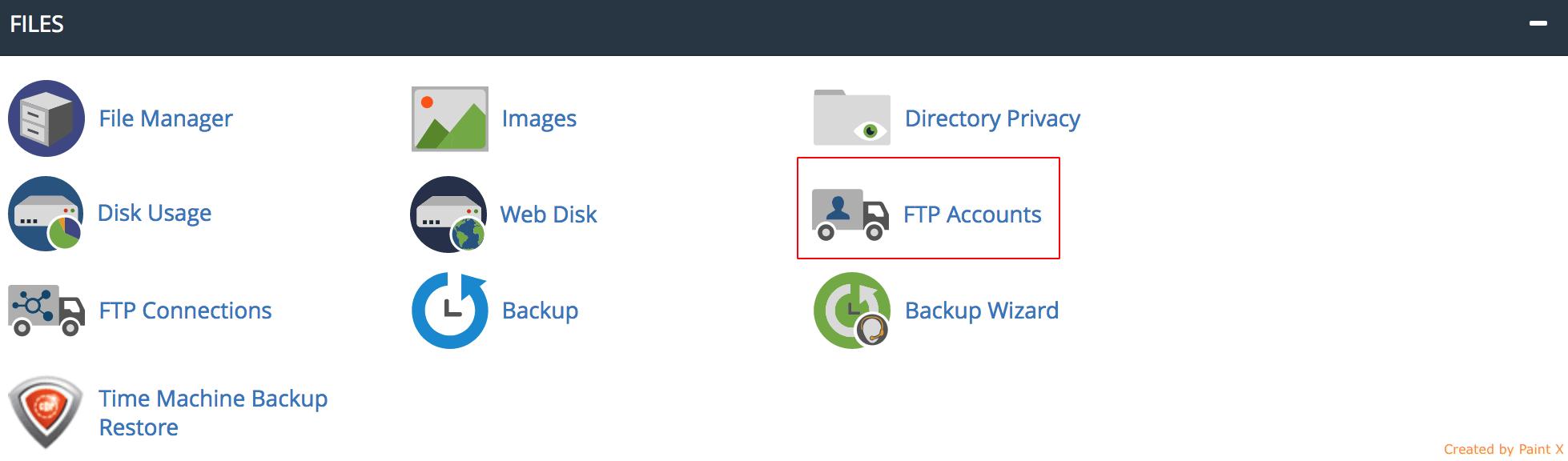 FTP-Accounts