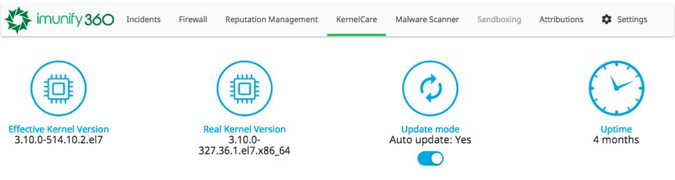 KernelCare-Imunify360