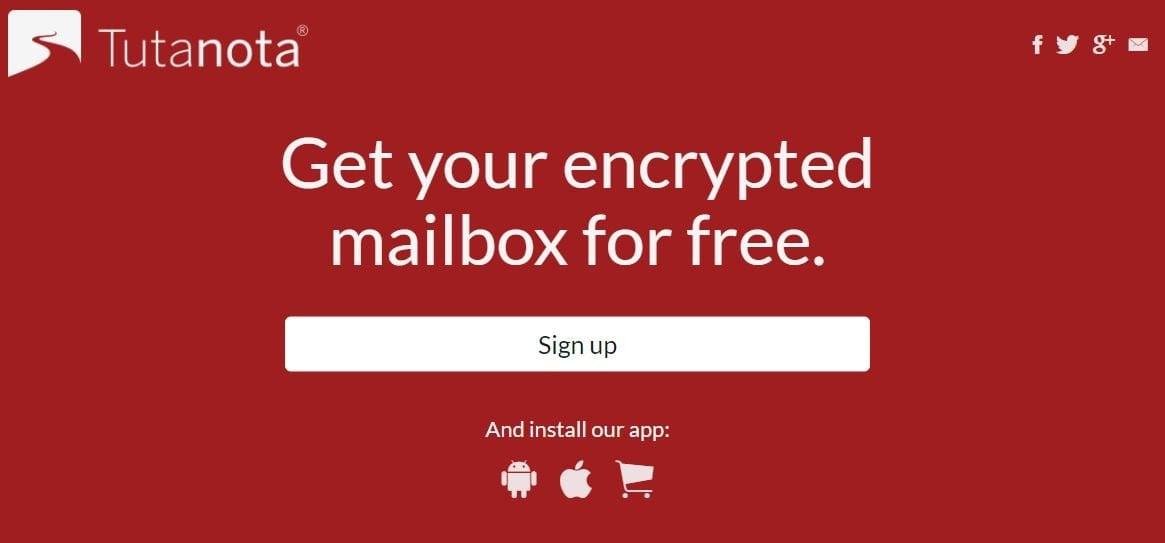 Tutanota-Email