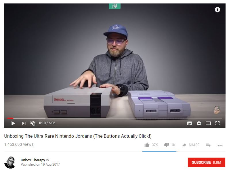 UnboxTherapy-YouTube