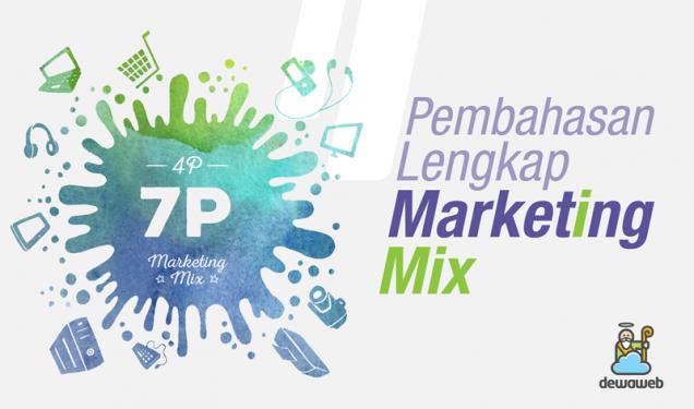 Marketing Mix - Blog Dewaweb