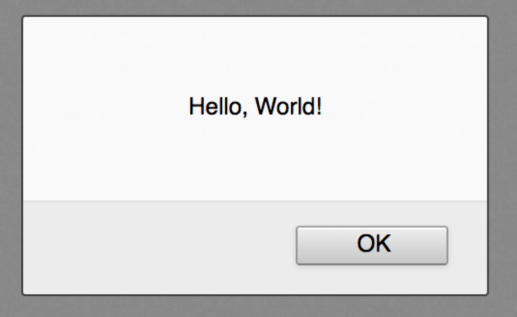 belajar javascript popup hello world metode alert
