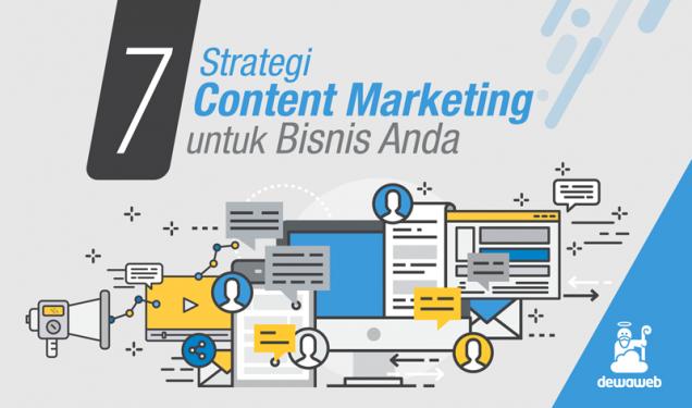 Strategi Content Marketing untuk Bisnis Anda - Blog Dewaweb