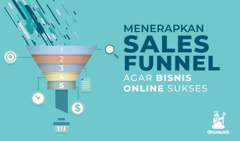 Menerapkan Sales Funnel - Dewaweb