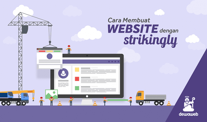 Cara Membuat Website Dengan Strikingly Dewaweb