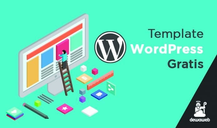 11 Template WordPress Gratis Dewaweb