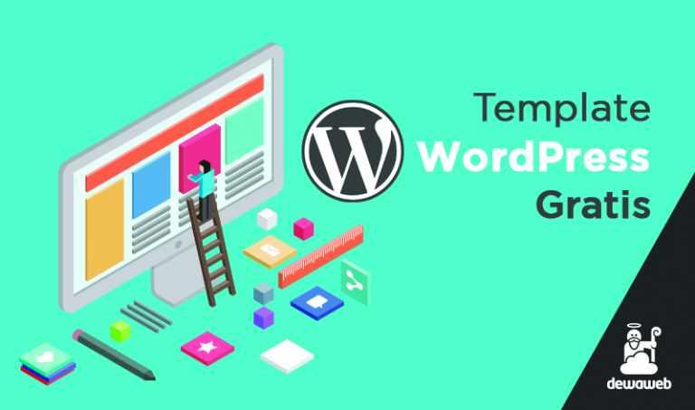 11 Template WordPress Gratis Dewaweb