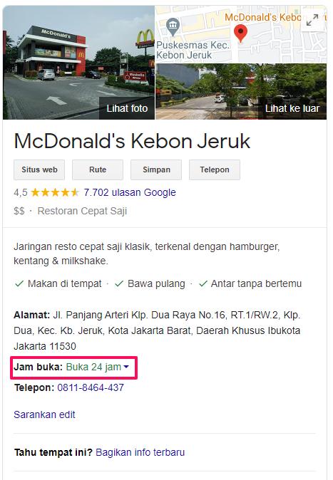 Temukan Cara Mengisi Situs Web Di Google Maps Terbaru