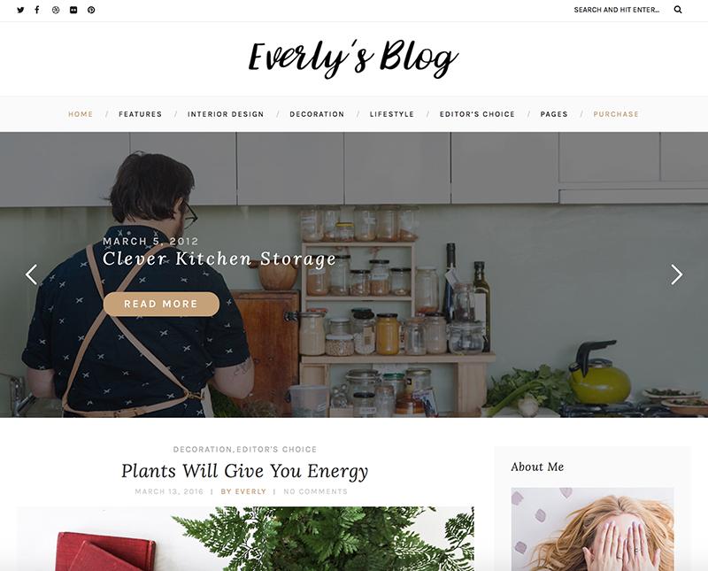 Template-WordPress-Everly-