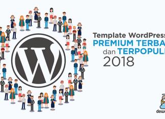 Template WordPress Premium Terbaik dan Terpopuler 2018