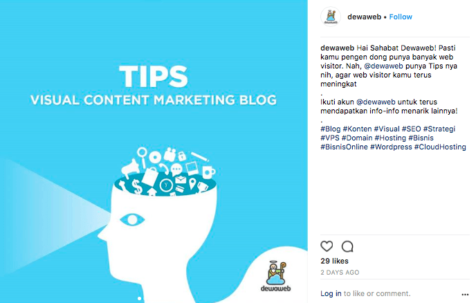 Tips Content Marketing 1 - Dewaweb