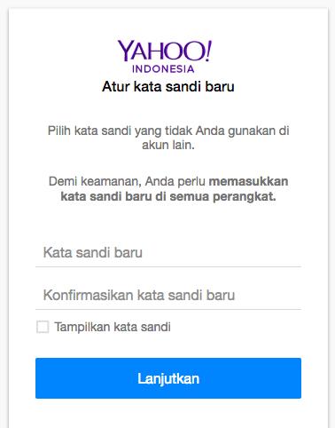 Cara Ganti Password Yahoo 5 Lengkap dari Dewaweb
