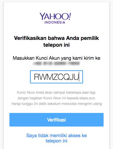 Langkah 3 Atasi Lupa Password Yahoo dari Dewaweb
