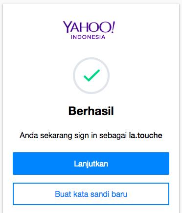 Langkah 5 Lupa Password Yahoo dari Dewaweb