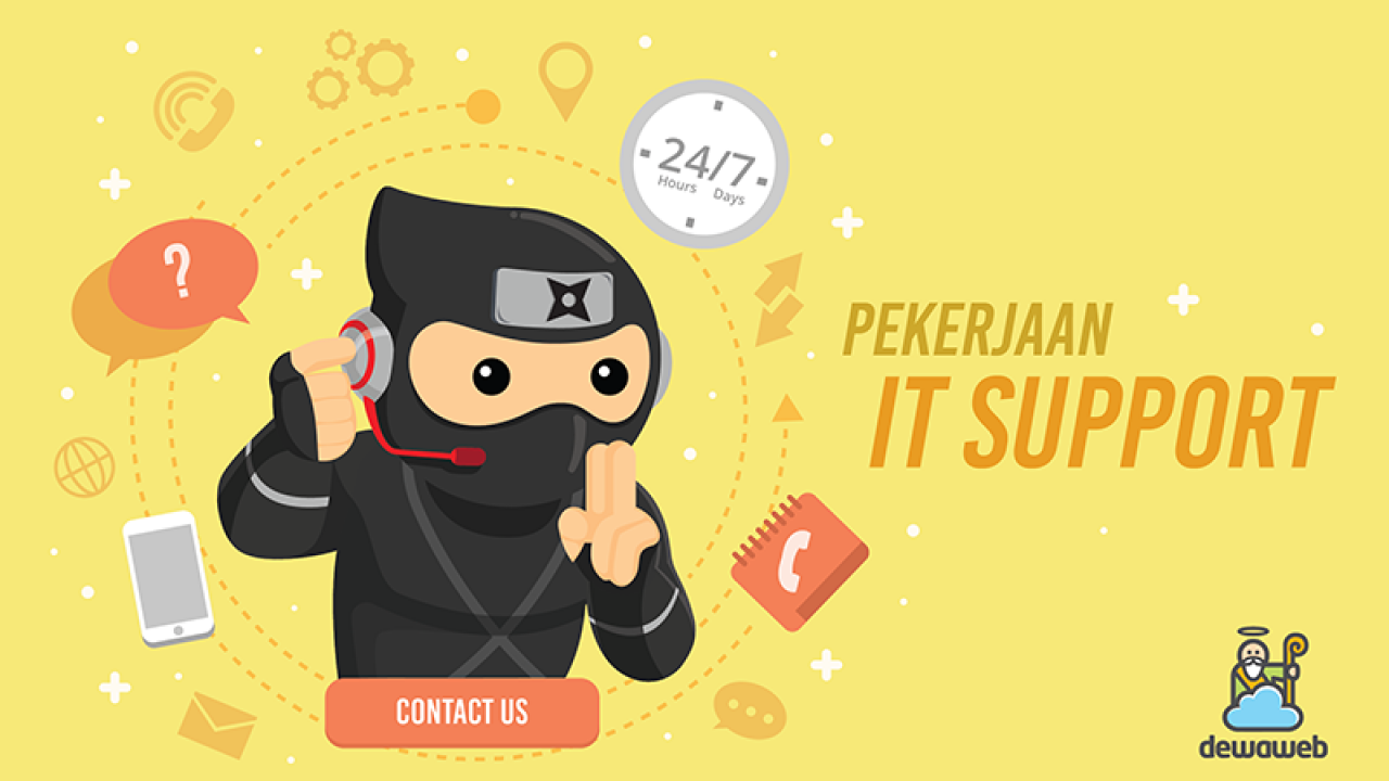 Menjadi It Support Job Desk Dan Skill