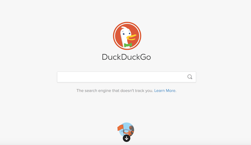 DuckDuckGo Search Engine Mesin Pencari Dewaweb