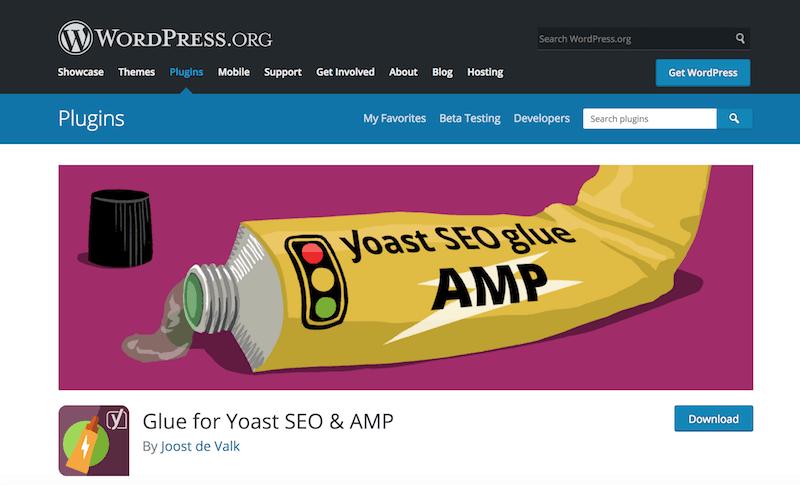 glue for yoast seo and amp dewaweb