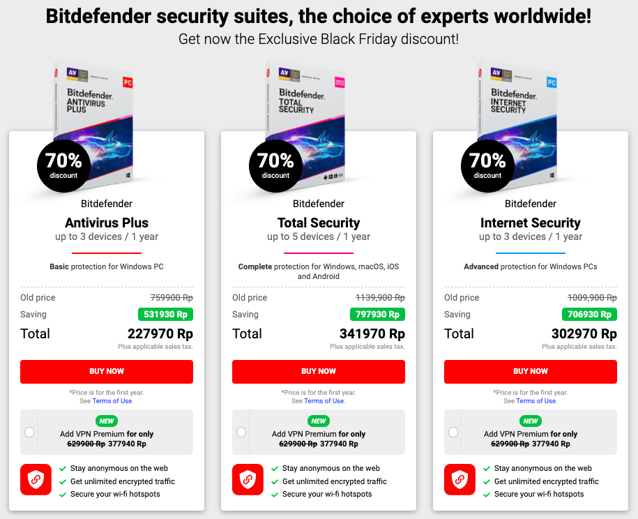antivirus windows bitfender pricelist