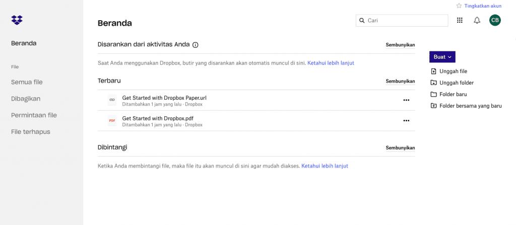 Panduan Lengkap Cara Menggunakan Dropbox Untuk Pemula