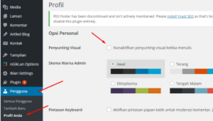 Cara Mengatasi Visual Editor WordPress Tidak Muncul | Blog Dewaweb