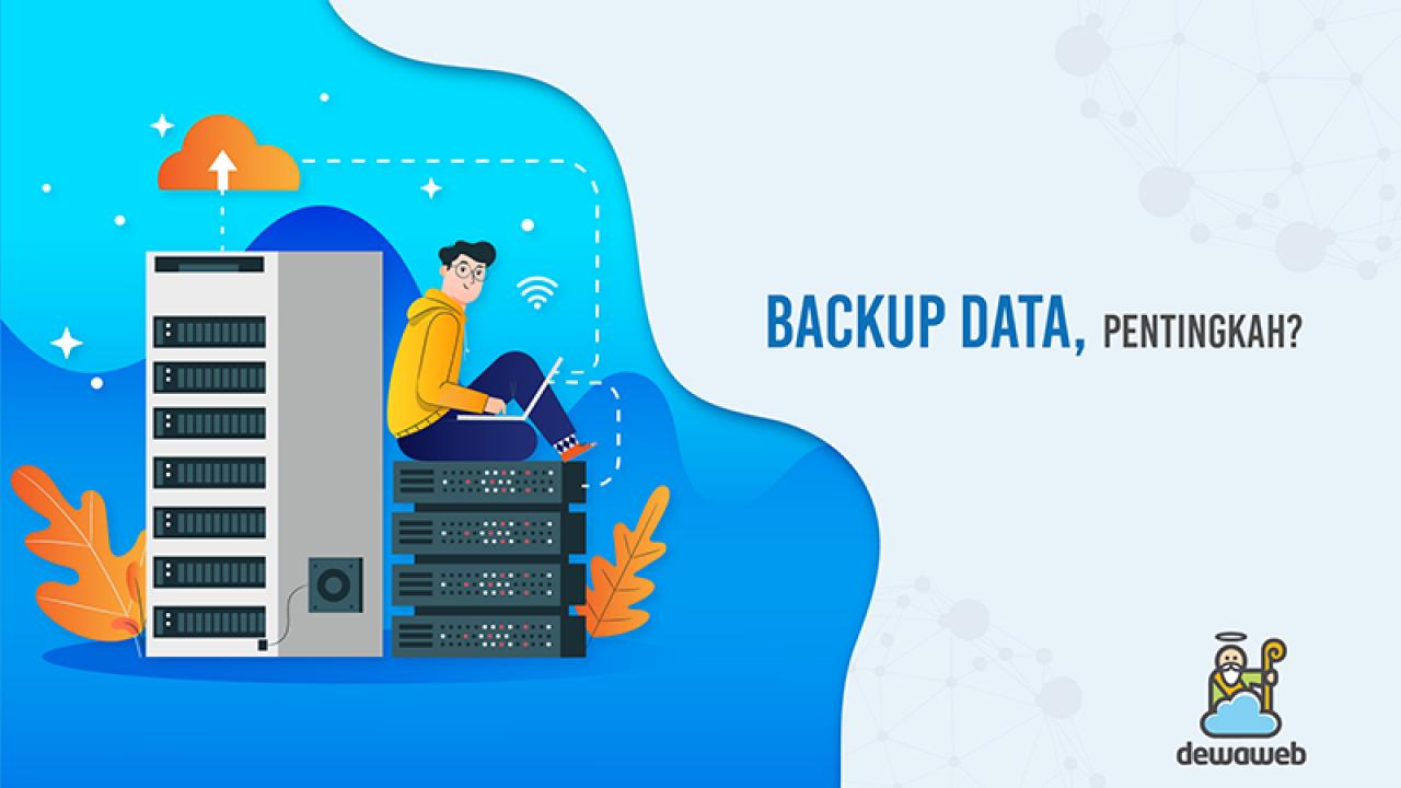 manfaat dan cara backup data website