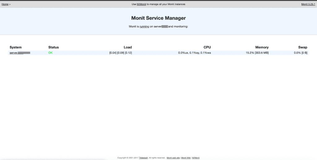 Monit Server Monitoring di CentOS 7