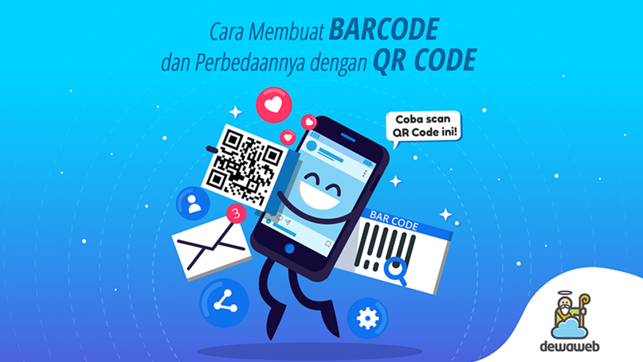 Cara Membuat Barcode Dan Bedanya Dengan Qr Code