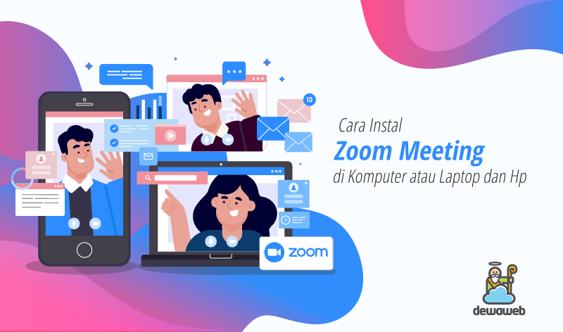 cara instal zoom meeting featured image