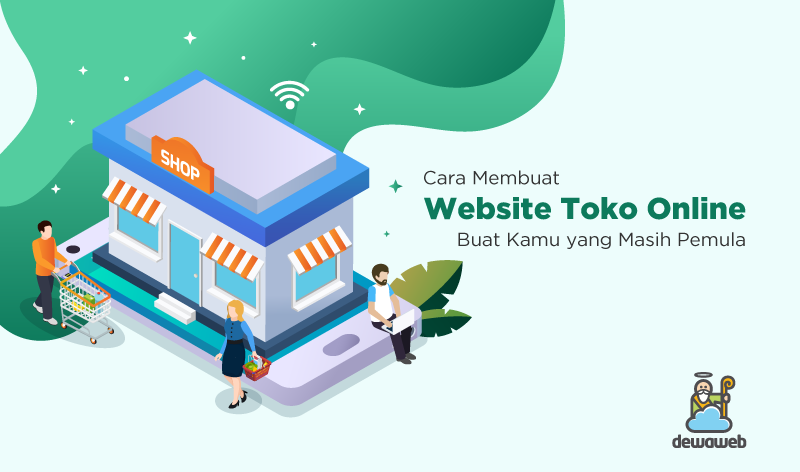cara membuat website toko online featured image