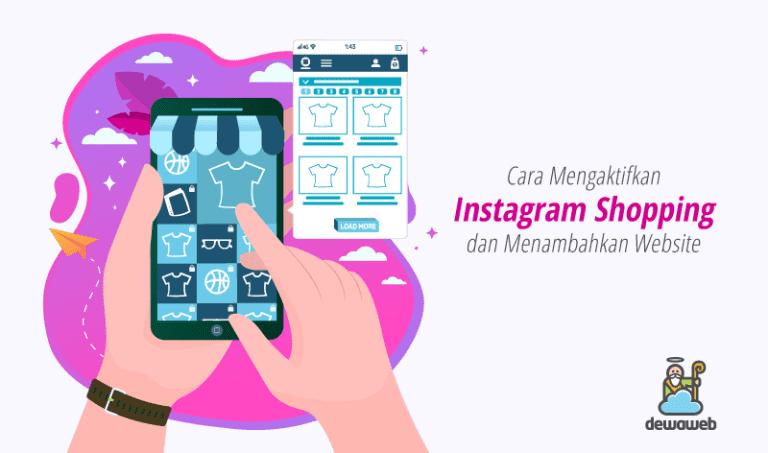 cara mengaktifkan instagram shopping featured image
