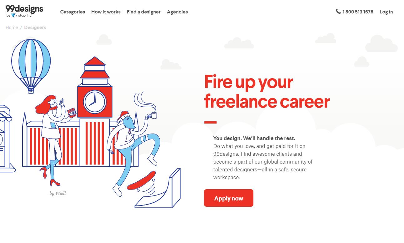 situs freelance 99design